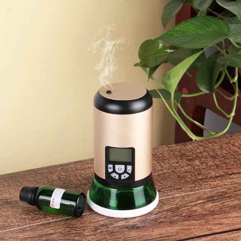Electric Aroma Diffuser 100ml Essential Oil Diffuser Car Cold Air Scent Diffuser Machine Spa Aromatherapy Diffuser