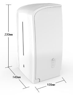 Soap Dispenser, Touchless Sensor Automatic Hand Sanitizer Dispenser, Touchless Wall-Mounted Soap Dispenser, 1000ml Large Capacity
